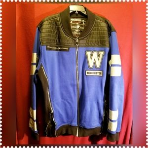 WINCHESTER MOTORCYCLE 3M PATCH SWEATER JACKET 3XL